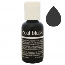 Гелевий барвник Chefmaster Liqua-Gel Coal Black